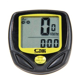 New Wireless Bicycle Cycling Computer Speedometer Odometer Meter - intl