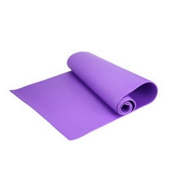 Harga USTORE 6mm Thick Non-Slip Yoga Mat Exercise Fitness Lose Weight 68x24x0.24inch Purple - Intl