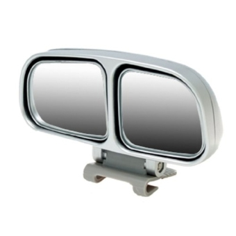 Harga SUNSKY Left Side Rear View Blind Spot Mirror Universal adjustable Wide Angle Auxiliary Mirror(Silver)