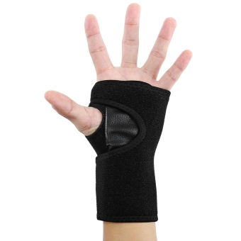 MiniCar Wrist Support Band Guard Bracer Outdoor Equipment Black(Color:Black) - intl
