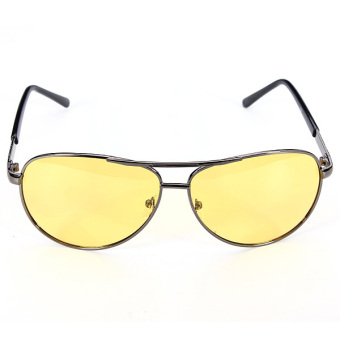 Polarized Yellow Lens Sunglasses Night Driving Vision Glasses Eyewear UV400