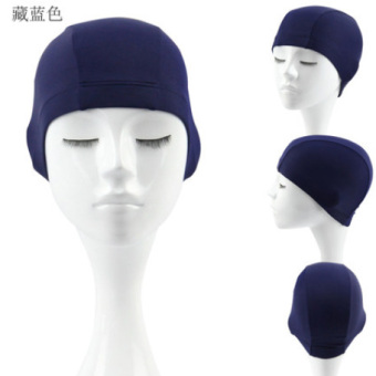 Harga Ordinary Plain Swimming Cap Cloth Cap Swimming Cap Men And Women Swimming Suits And Equipment
