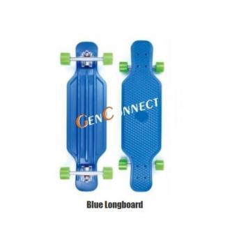 Longboard 31 inch Skateboard (Blue)