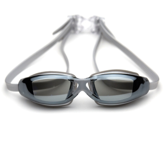 Male Ms. plating racing swimming glasses goggles