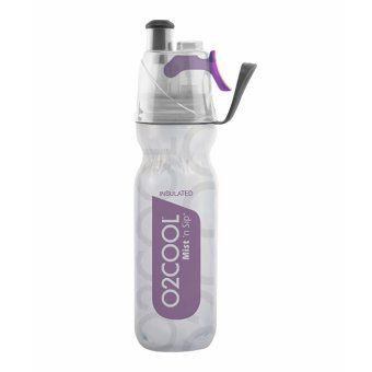 O2COOL 18oz Purple Insulated ArcticSqueeze(R) Mist 'N Sip(R)