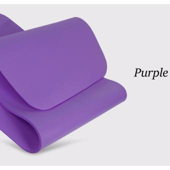 Purple Premium NBR Yoga Mat | Thick Soft and Portable Yoga Mat |Fast Delivery - 2