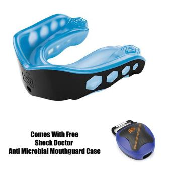 Harga Shock Doctor Gel Max 6103A Adult Mouthguard (Blue/Black)