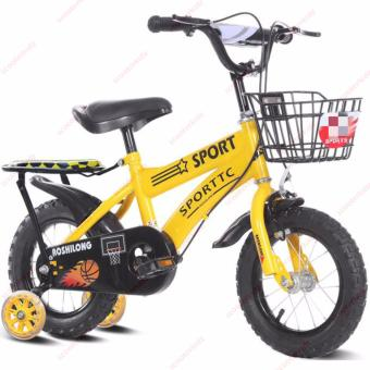 Sporttc 14 inch Kids Bicycle with Back Seat (Taiwan Made)