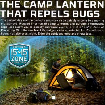 Thermacell Scout Mosquito Repeller Camp Lantern - 5