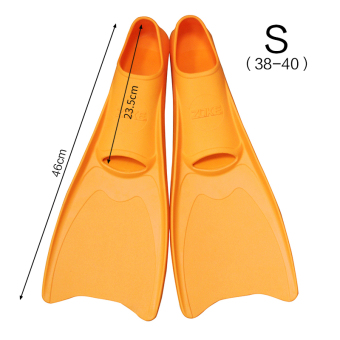 Zoke floating diving fins swimming flippers