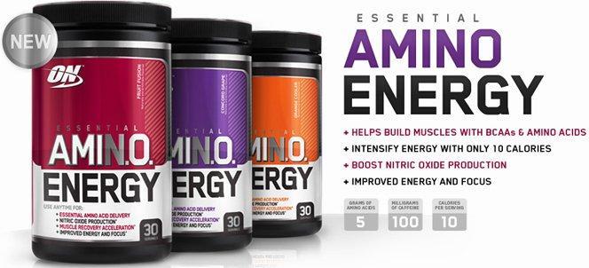 Optimum Amino Energy