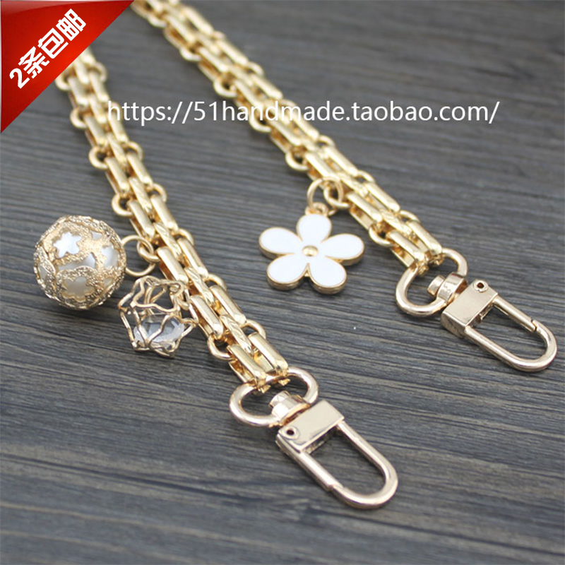 12mm metal beads pendant (1.2 m)