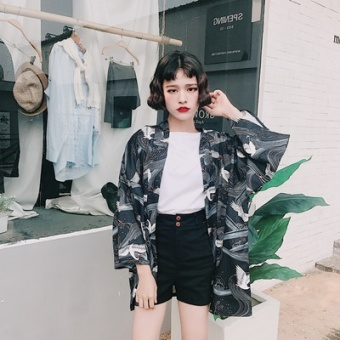 Search Singapore 200 Of Fat Mm Summer Japanese Kimono Style Top ...