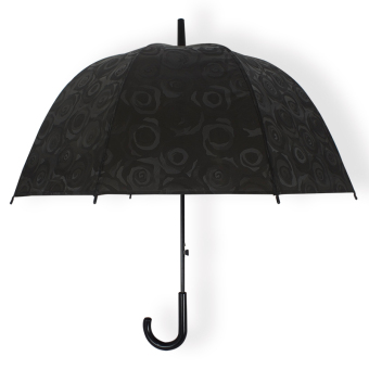 Apollo 3D/xa1710 ladies women birdcage umbrella (Black)