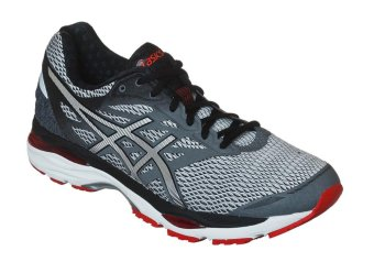 ASICS GEL-CUMULUS 18, RUNNING SHOES (CARBON/SILVER/VERMILION)