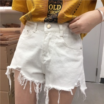 BF Korean-style summer New Style High waisted shorts