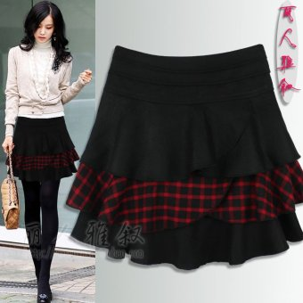 British style Spring and Autumn New style cake skirt