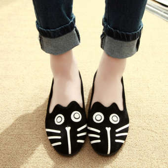 Cartoon cat Cute Shoes scoop shoes (Cat)