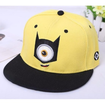 Cartoon Minions Baseball Cap for Adult Hat Despicable Me Caps HipHop Hat - intl