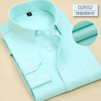 Men's casual spring Men business Long sleeve shirts (G2652) (G2652)