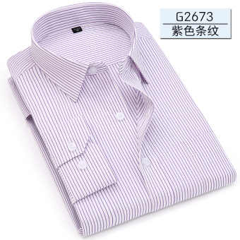 Men's casual spring Men business Long sleeve shirts (G2673) (G2673)
