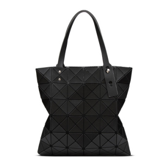Celebrity inspired grid geometric Lingge bag (Matte Black)