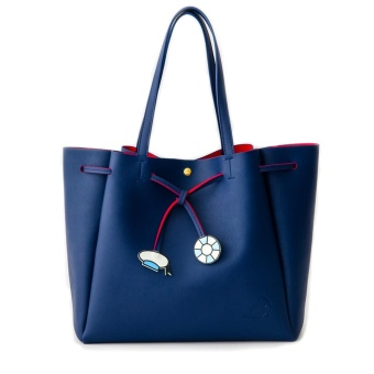 COLORS by Jennifer Sky Disney Limited Collections Tote bag Donald Duck (NAVY COLOR)