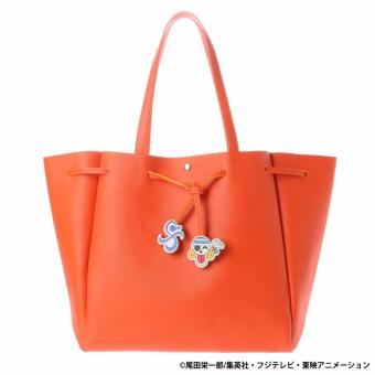 COLORS by Jennifer Sky x ONE PIECE Limited Collection Tote bag (ORANGE COLOR)
