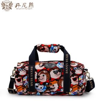 Danny bear fashion portable messenger bag large capacity canvas bag bucket bag colorful