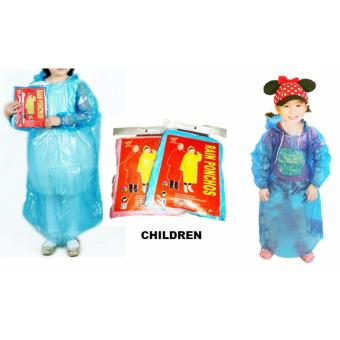Disposable Poncho - Buy 5 Get 1 Free (Children Yellow)