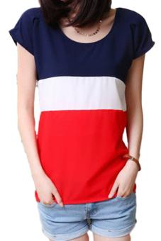 Fancyqube Chiffon T-shirt Red