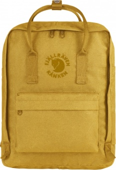 Fjallraven Re-Kanken Classic Backpack (142-Sunflower Yellow)