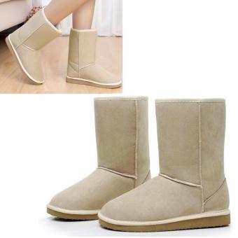 Hot Sale Sunwonder Women Winter Warm Snow Half Boots Shoes 6 Colors- intl - 3