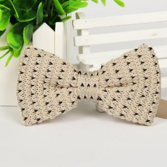Harga Bowtie Formal Neckwear Bow Tie Party Wedding Mens Wool-knitting Bow Ties for Men Accessories - intl