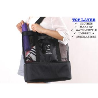 Harga Premium Korean Layer Tote Bag