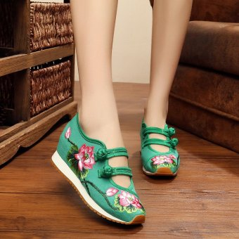Harga National Wind Spring and Autumn flat women shoes