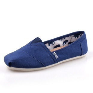 Harga Tom Thomas canvas shoes solid color flat casual shoes couple shoes LR men and women shoe covers foot casual shoes