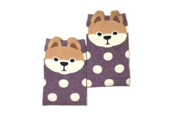 Harga T92 Purple Dog Socks (Adult)