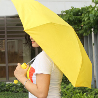 Harga Banana Umbrella Novelty Yellow Um-banana Umbrella High Quality Banana Shaped Clear Rain Umbrellas