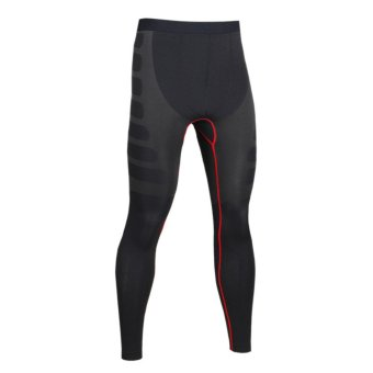 Harga Men's Compression Baselayer Running Tights Sport Training Pant - intl