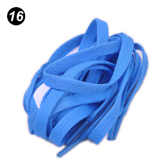 1.2M Athletic Shoe Laces Shoelaces BOOTLACES strings Sneakers boot Sky Blue - intl