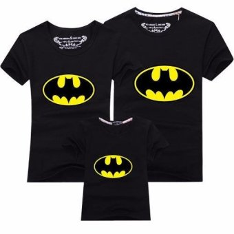 Harga Father Mother Daughter Son T-Shirt Outfit Family Matching Clothes(Dad Batman)