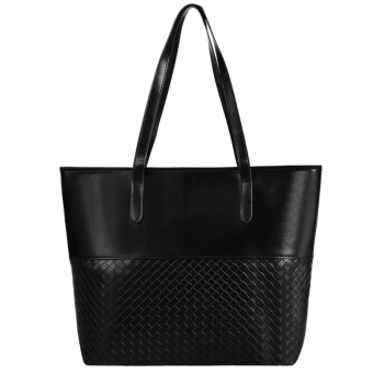 Jo.In New Fashion Women Elegant Large Capcity Solid Shoulder Bags Handbag Casual Tote - Intl
