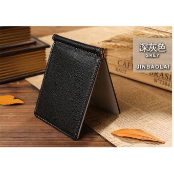 TP Men Genuine Pu Leather Card Holder Coins Wallet Purses-Coffee - intl