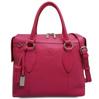 Harga Santa Barbara Polo & Racquet Club Full Leather Top Handle Tote