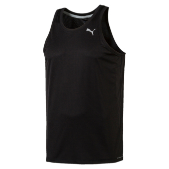 Harga Puma Men Core-Run Singlet Puma Black
