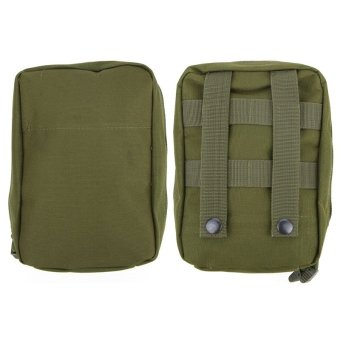 Harga Outdoor Molle System Medical pouches Hunting Military Bag Molle First Aid Kit Hunting Sport Medical Pouch Carry Sling Tactical Bag - intl