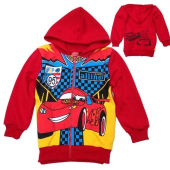 Harga 'Kisnow 2-12 Years Old Boys'' 90-145cm Body Height Cotton Sweaters(Color:Red) - intl'