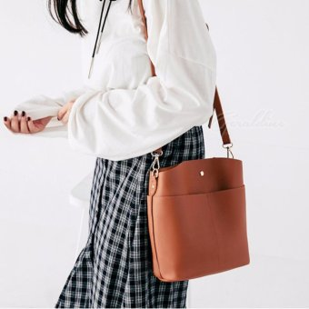 Harga Geraldine Adele Weekday Sling Bag (Brown)