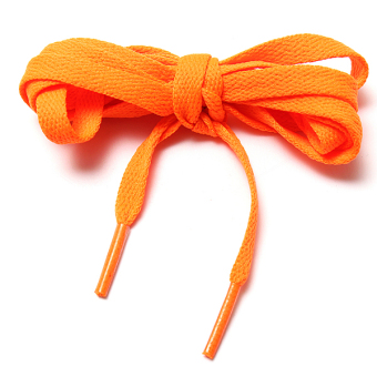 "Pair Flat 57"" Athletic Shoe Laces Shoelaces BOOTLACES Strings Sneakers Boot Orange - Intl"